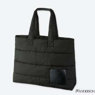 JW ANDERSON TOTE PADED BAG BLACK