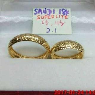 Wedding ring pair