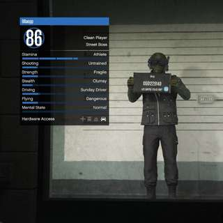 *PS4* GTA Online Fresh Account 2.5mil