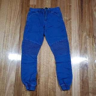 Ribbed cargo skinny pants (30)