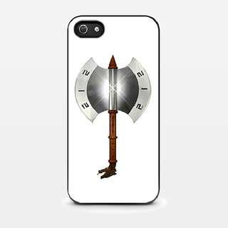 Kapak Naga Geni 212 iPhone 5 - 5s - SE Custom 2D (Blsck) Hard Case