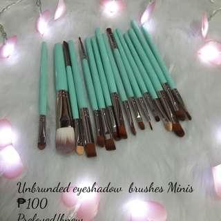 Eye shadow brush minis