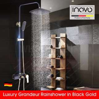 Luxury Grandeur rain shower / rainshower / toilet accessories / towel rack / corner rack / shampoo rack / mixer tap / renovation / plumber / bathroom accessories/ faucet, basin tap / kitchen tap
