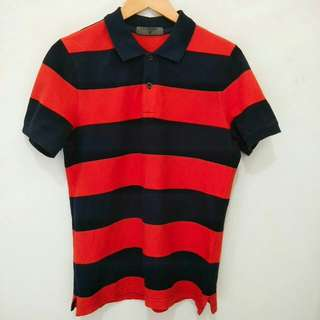 Giordano stripe polo shirt