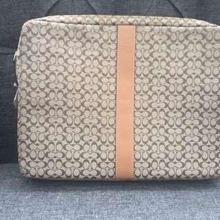 Authentic Coach Lap Top Bag
