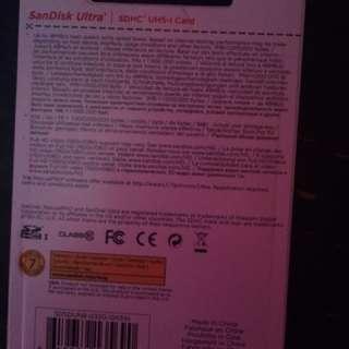 sandisc memory card
