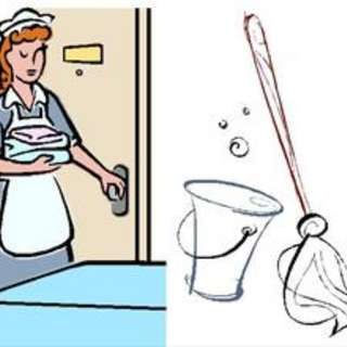 Part-time house helper/cleaner/nanny