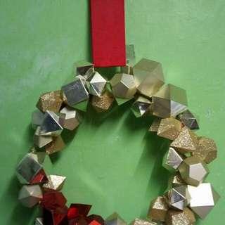 Christmas door decoration