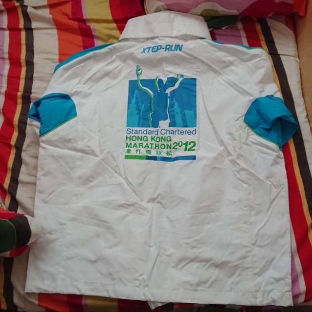 2012年渣打馬拉松工作人員外套