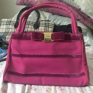 Original Via Demizon Pink Hand Bag