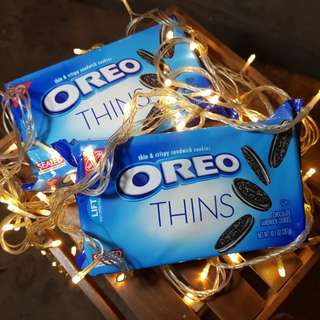 Oreo Thins new flavors