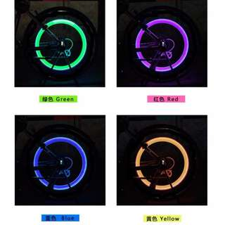Bicycle glowing accessories自行車發光配件
