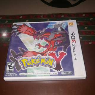 Nintendo 3DS Game - Pokemon Y