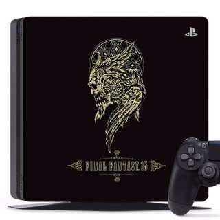 PS4 Slim Cover Limited Edition Final Fantasy 15