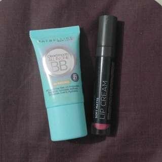 Lip cream dan BB cream