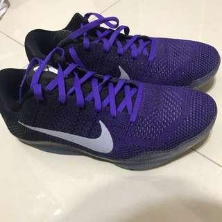 🚚 Nike Kobe Us 9.5 紫黑 果凍底