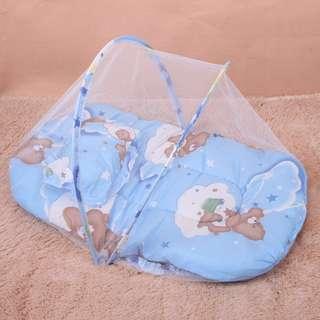 寶寶折疊蚊帳床