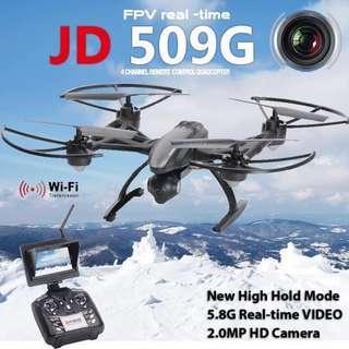 GPS定位 一鍵回航 四軸航拍機 JD509