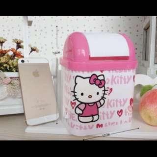 🚚 kitty桌面型垃圾筒