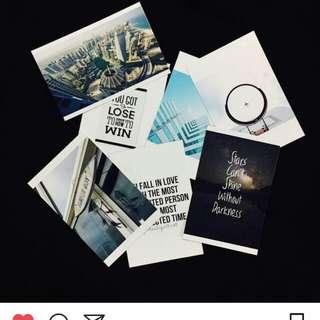 Polaroid Photo Printing (wide polaroid)