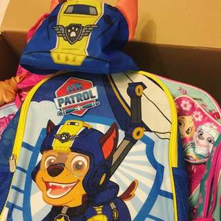 NEW George UK Paw Patrol Chase School Bag