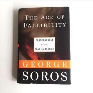 The Age Of Fallibility — George Soros