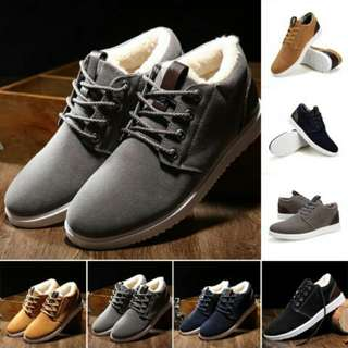 #1212YES~ Men Winter Suede Leather Shoes