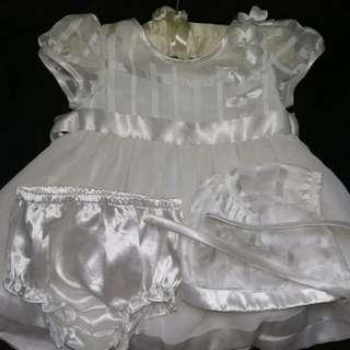 Periwinkle Baptismal Dress
