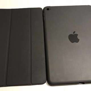 炭灰色原廠 Smart Cover 同case (ipad mini 4用)