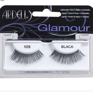 Ardell Glamour 105 Black Lashes