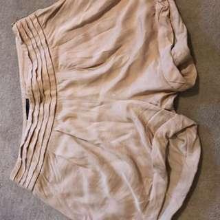 Tokito myer crepe pink shorts size 10
