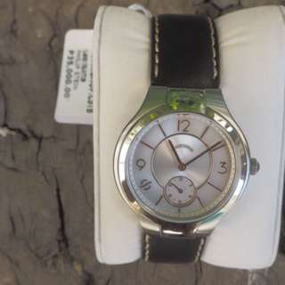 Philip Stein Small Classic Round Mother of Pearl