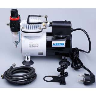 Professional Airbrush kit with Compressor Unit and 0.3 Airbrush
