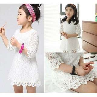 Baby Girl A-Line Lace Dress