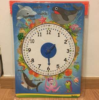 Clock for Learning time (brand new)