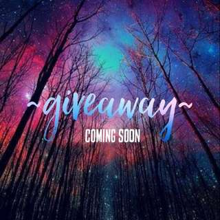 giveaway coming soon~