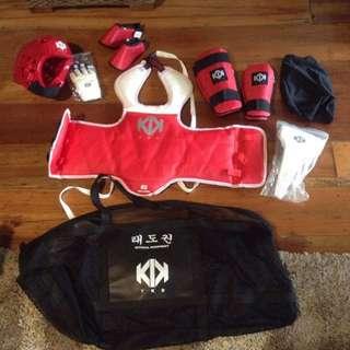 Ultimate taekwondo gear!!