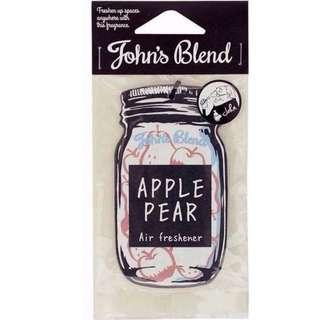 John'sBlend 香氛吊片-蘋果梨