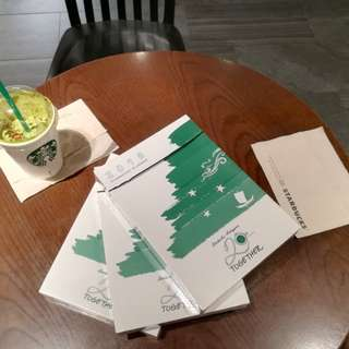 Starbucks Planner 2018 Complete with Freebies