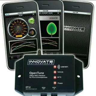 Innovate motorsports OT-2 obd2 interface error code scan / dyno bhp / gauge tunning for subaru
