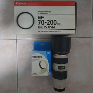 ($850)Canon EF 70-200mm f4L IS USM