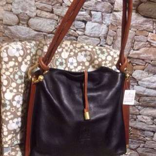 Marco Valentino Leather Tote Bag