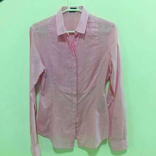 RAOUL Slim Fit Soft Pink shirt *Further reduction*