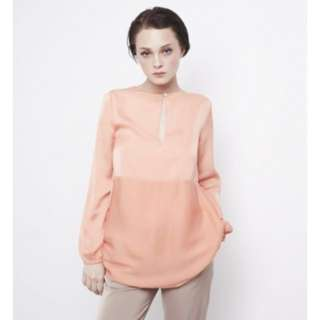 Mimpikita keyhole blouse in peach size UK8