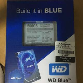 "3.5"" Western Digital 500GB hardisk"