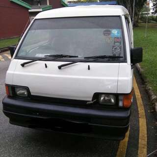 Commercial Vans For Rent!