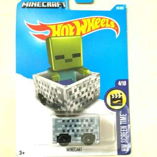Hot wheels - Minecart