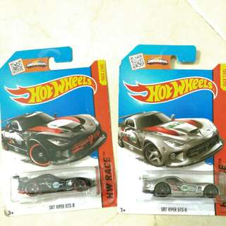 Hot wheels - SRT Viper GTS-R