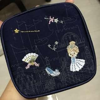 Cinderella Jewelry Travel Pouch