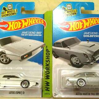 Sale..Hot Wheels - James Bond
